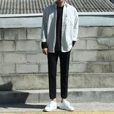 33 ideas fitness style menswear for 2019 Korean Fashion Men, Kpop Fashion, Fitness Fashion, Mens Fashion, Fashion Outfits, Fitness Style, Fashion Shirts, Fitness Wear, Fashion Clothes