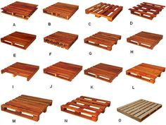 Tipos de paletes Wooden Pallet Beds, Pallet Decking, Diy Pallet Furniture, Diy Pallet Projects, Bedroom Bed Design, Bedroom Decor, Diy Bed, Decoration, Home Crafts