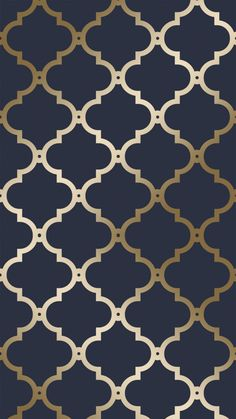 A Beautiful, Bold and Striking Pattern. For more Timeless and Elegant Designs vi. - A Beautiful, Bold and Striking Pattern. For more Timeless and Elegant Designs visit ilovewallpaper. Blue And Gold Wallpaper, Navy Wallpaper, Art Deco Wallpaper, Trellis Wallpaper, Geometric Wallpaper, Blue Wallpapers, Room Wallpaper, Designer Wallpaper, Pattern Wallpaper