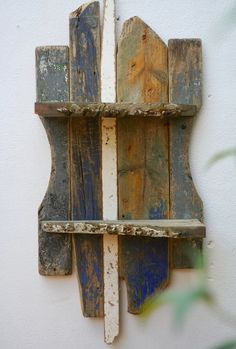 27/7 SHORELINE - Driftwood shelves, Boat wood, Blue's beach, Drift Wood Cornwall, by Julia's Driftwood Furniture, £98