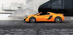 McLaren 650S Spider - Side view - visit http://www.parks.uk.com/mclaren