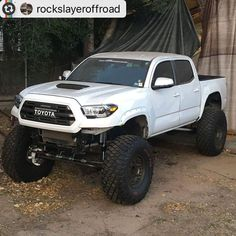 First solid axle Gen Tacoma? Anyone heard or seen another Gen Tacoma with solid axle swap? -- the for your third gen for your front or rear or both RockSlayer Off-Road . Toyota Tacoma Lifted, Toyota 4x4, Toyota Trucks, Lifted Ford Trucks, Jeep Truck, Custom Trucks, Chevy Trucks, Pickup Trucks, Toyota Tundra