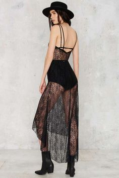 Thick Skin Lace Slip Dress - Sale: 30% Off | Dresses | Lingerie