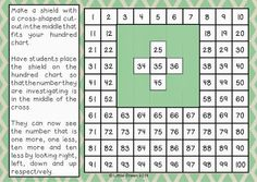 One, Two, Three: Math Time!: Hundred Chart Heaven