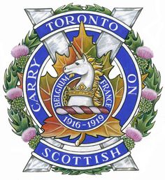 The Toronto Scottish Regiment (Queen Elizabeth The Queen Mother's Own) [Military Institution] Canadian Army, Canadian History, Military Units, Military Police, Afghanistan War, Military Insignia, Badge Design, Crests, Coat Of Arms