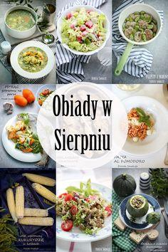 Pomysły na obiady w Sierpniu