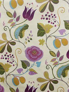 CAPRI FANTASIA | Forsyth Fabrics Ethnic Patterns, Pretty Patterns, Textures Patterns, Fabric Patterns, Floral Patterns, Textile Prints, Textile Design, Fabric Design, Textiles