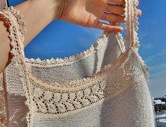 Ravelry: hrivelote's Penelope using Lace-edged camisole by Jennie Atkinson.