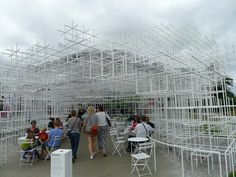 Serpentine Gallery Pavilion 2013 Designed by Sou Fujimoto.