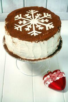 Kessy's Pink Sugar: Winterliche Mascapone Torte