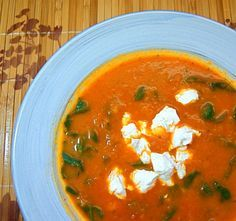 Tomato Soup with Chard