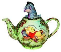 eeyore & pooh tea pot