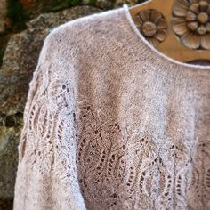 Ravelry: Second Chance Sweater pattern by Valentina Bogdanova Crochet Hooks, Knit Crochet, Lace Knitting Patterns, Yarn Thread, Circular Needles, Knit Picks, Stockinette, Sweaters For Women, Wool