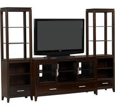 Baxter Bookcase and Credenza from Haverty's