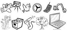 Resultado de imagen para laminas sobre artefactos tecnologicos para preescolar