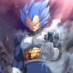 Vegeta the King dragonball super edit. Visit Anime Shirt Club for premium anime merchandise. Goku E Vegeta, Son Goku, Dragonball Super, Anime Merchandise, Image Manga, Super Saiyan, League Of Legends, Anime Art, Otaku