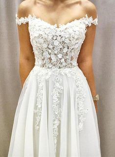 Wedding Party Dresses Off the Shoulder with Appliques - Lisa Wolf -Beautiful White Wedding Party Dresses Off the Shoulder with Appliques - Lisa Wolf - Gorgeous A Line Scoop Backless White Lace Wedding Dress with Applique Champagne Bridesmaid Dresses, Blue Wedding Dresses, Wedding Gowns, Prom Dresses, Bridal Gown, Formal Dresses, Elegant Dresses, Champagne Dress, Wedding Veil