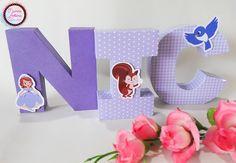 Letra 3D Princesa Sofia