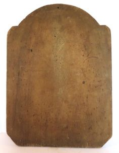 19TH CENTURY TOMBSTONE SHAPED DOUGH BOARD