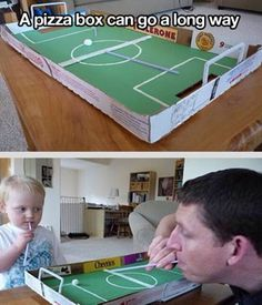 this game looks fun and cheap to make, also in this photo you can see that a small child is playing so therefor child friendly