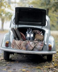 Mmm. VW and wine.