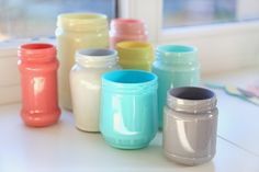 The Art of the Jar! From spaghetti sauce container to pencil holder or flower vase, a jar can be almost anything you can imagine! With a bit of paint, some creativity and purposeful inspiration, you can reuse your jar for something magical! #Mason Jar #DIY