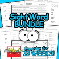 Work Work Bundle - Reduced price for a short time Can be used for work work, centers, morning work, homework, and early finishers. Many activities such as mixed up words, mixed up sentences, cut and paste, and more! No Prep!