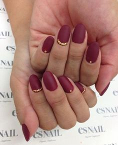 Simple Matte Nail Art Designs for Beginners (9)