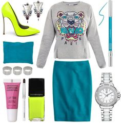 """wishlist: Kenzo Tiger embroidered sweater."" by goldiloxx ❤ liked on Polyvore"