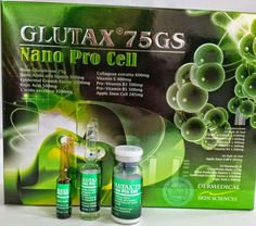 """Glutax 75gs Nano Pro Cell is the best skin care injection for all skin complexions. The injection is manufactured under expert supervision when every ingredient is mixed in perfect percentages. Interestingly, this product contains """"apple stem cell"""", which has multiple of utilities for human skin but its benefit is not known to many people."""