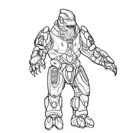 Halo Pictures To Print And Color