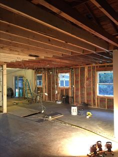 Beautiful Steel Beams for Basement Walls