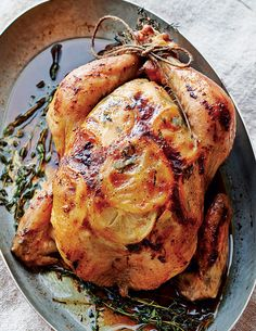 Roast Chicken Recipe (Burnished skin. Juicy meat. An insanely come-hither aroma. All this can be yours for supper—with nary any effort—thanks to this easy yet elegant roast chicken recipe.)