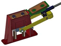interlock brick machine - 3D CAD model - GrabCAD
