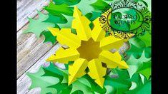 COPO DE NIEVE 3D EN PAPEL | MOLDES GRATIS | 3D PAPER SNOWFLAKE