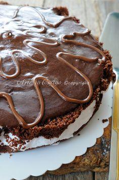 Cheesecake kinder delice torta fredda senza forno vickyart arte in cucina