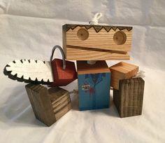 Wooden Ash Robot