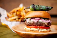 Mexican Burger at Stripburger  #LettuceEntertainYou #LettuceEats  #Stripburger #LasVegas #Burger #BurgerMonth #Delicious
