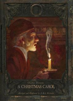 This would be great to add to our Christmas Book tradition. A family Christmas book—A Christmas Carol, Illustrated Edition. The beloved Christmas classic by Charles Dickens comes to life with fine-art paintings from artist J. Ghost Of Christmas Past, Christmas Books, A Christmas Story, Family Christmas, Victorian Christmas, Vintage Christmas, Dickens Christmas Carol, Party Vintage, Little Dorrit