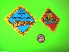 FUNHOUSE By WILLIAMS 1993 NOS ORIGINAL PINBALL MACHINE PLASTIC PROMO SET OF 3 #pinballpromo #funhousepinball