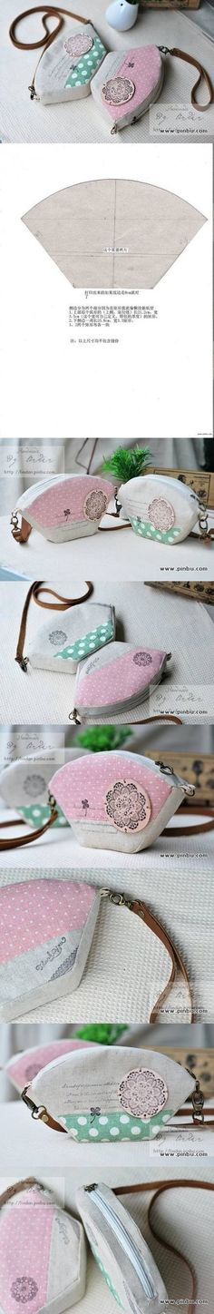 DIY Mini Handbag Tutorial diy craft crafts diy crafts how to tutorial diy handbag craft handbag