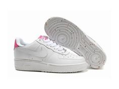 sports shoes 3da0d cf6c1 Nike Air Force 1 Basse  07 Blanc Rose Chaussure pour Femme Air Force One Pas