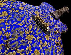 "Jens Ritter Princess Isabella ""The Blue Dragon"" - Limited Edition of 25 Guitars"