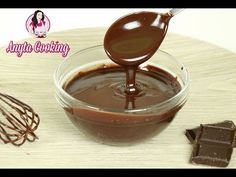Reteta Glazura de ciocolata / Anyta Cooking - YouTube Chocolate Fondue, Macarons, Gluten Free Recipes, Food And Drink, Sweets, Make It Yourself, Cooking, Desserts, Tortillas