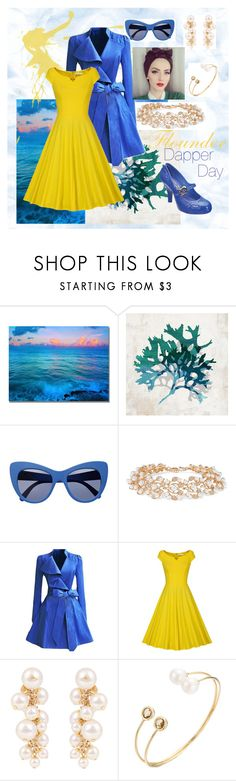 """Don't be such a Guppy"" by foreverdisneybounding ❤ liked on Polyvore featuring Home Decorators Collection, STELLA McCARTNEY, Kenneth Jay Lane, WithChic, Melissa, Lanvin, thelittlemermaid, disneybound and dapperday"