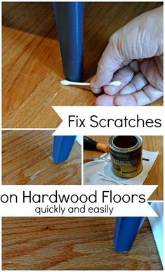 Easily Fix Scratches on Hardwood Floors - CHATFIELD COURT