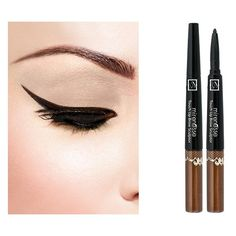 Touch Up Brow Sculptor Fine Point Pencil Filling Gel 3.25g ($40) ❤ liked on Polyvore featuring beauty products, makeup, eye makeup, eyes, beauty, eyebrow cosmetics, eye brow makeup and mac cosmetics