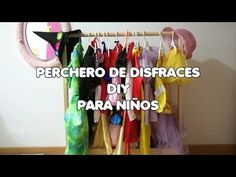 Como hacer un perchero de disfraces para niños - YouTube Diy Projects To Try, Youtube, Outdoor Decor, Home, Fancy Dress For Kids, Organize, Patterns, Youtubers, Youtube Movies