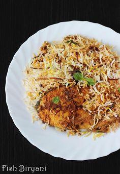 Fish biryani recipe - How to make fish biryani - Fish dum biryani recipe