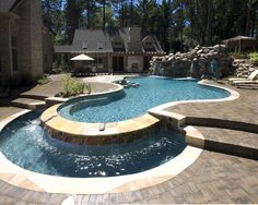 Tropical Pool Design, Pictures, Remodel, Decor and Ideas - page 14